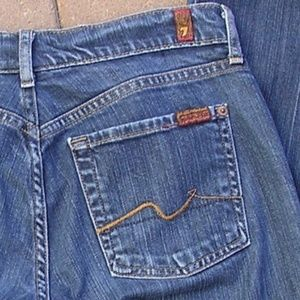 7 For All Mankind Bootcut Jeans 30